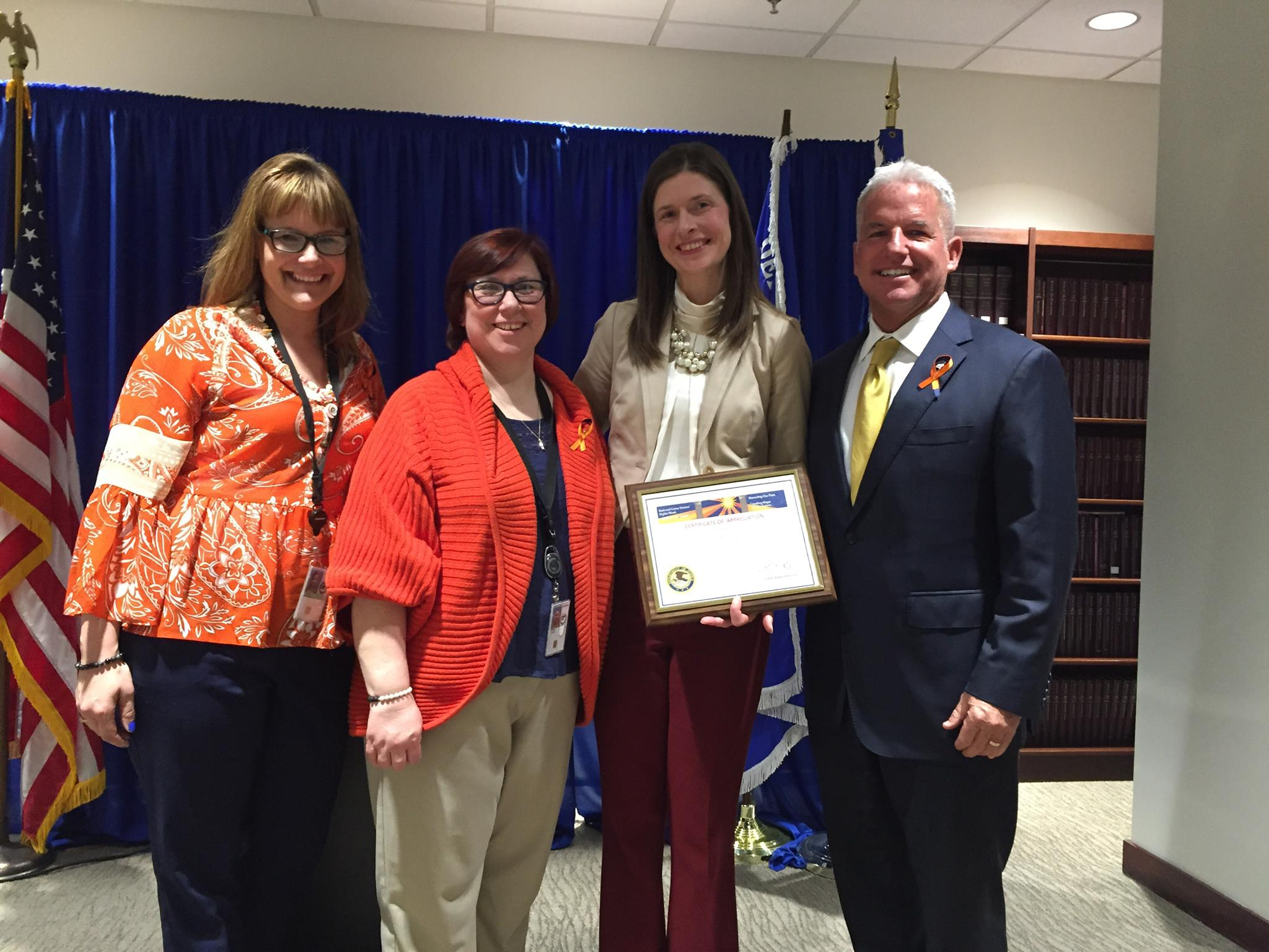 PATH Awarded Certificate of Appreciation for Outstanding Service on Behalf of Crime Victims