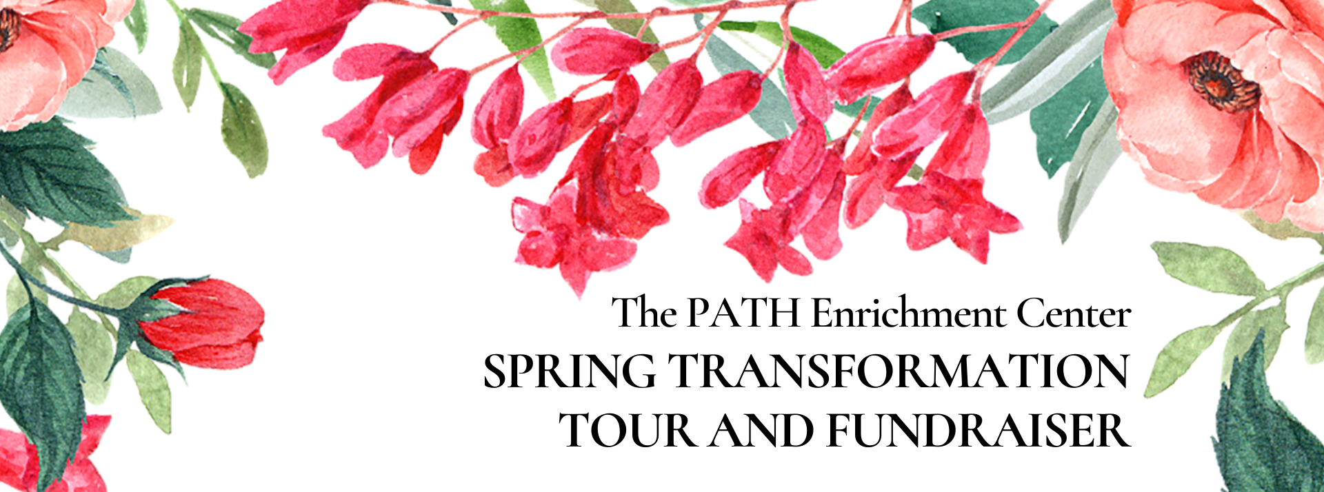 Spring Transformation Tour and Fundraiser
